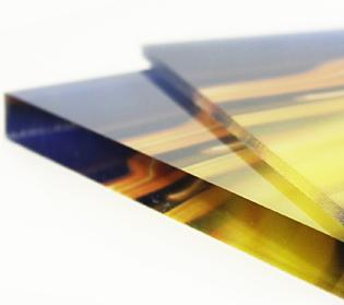 dettaglio plexiglass