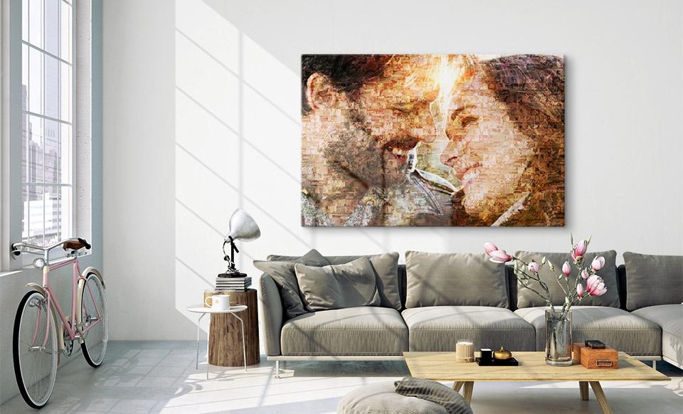 foto mosaico app appartamento