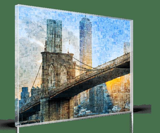 mosaico acrilico