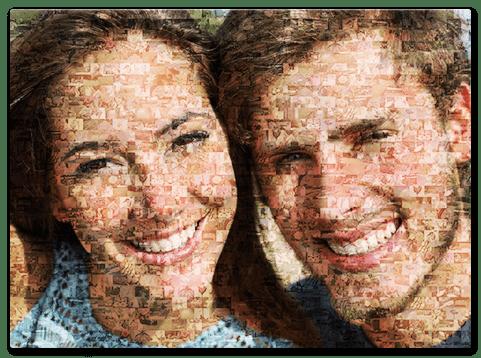 mosaico fotografico top
