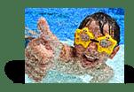 mosaico_feedback_esempio bambino vacanza