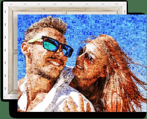 stampa su tela mosaico top